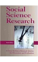 Social Science Research: A Cross Section of Journal...