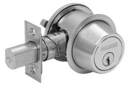 Falcon D131Cp6 Double Cylinder Heavy Duty Deadbolt Conventional Cylinder Schlage C