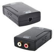 HDTVhookupTM Digital Optical Toslink to Analog Audio Converter