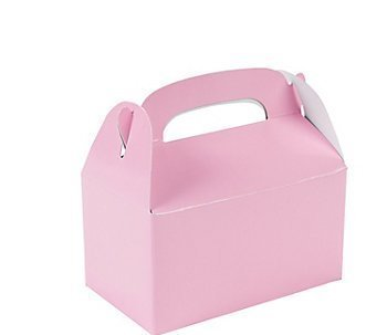 Fun Express 24 Mini Pink Treat Boxes (Pink Gift Boxes compare prices)