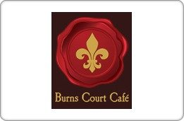 Burns Court Cafe Gift Certificate ($40) front-802472