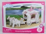 Kid Connection Princess Carriage Building Set