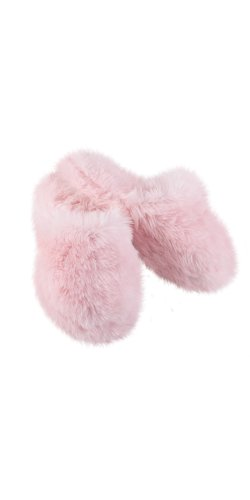 PajamaGram Women's Pink Fuzzy Wuzzies Slippers (Extra Long Nightshirts compare prices)