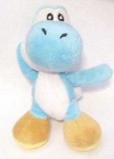 "Nintendo Hanger Light Blue Yoshi 5"" Plush Doll"