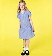 2 Pack Outstanding Value Easy to Iron School Dresses