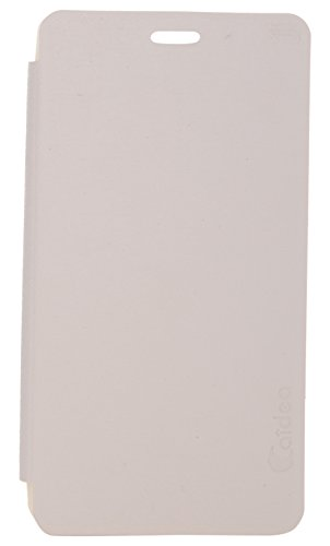 iCandy Soft TPU Non Slip Back Shell PU Leather Hybrid Flip Cover for Sony Xperia C C2305 - WHITE  available at amazon for Rs.135