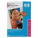 Hewlett Packard [HP] Premium Plus Photo Paper Glossy 280gsm 130x180mm Ref Q6572A [20 Sheets]