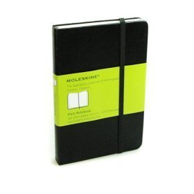 Plain Notebook Moleskine small Book journal