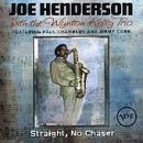 Joe Henderson Straight No Chaser