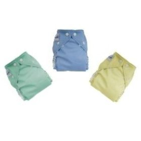 12 Pack One Size Cloth Diapers Girl Colors -NEW COLORS