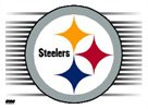 Pittsburgh Steelers 3 x 4 Static Cling by Wincraft