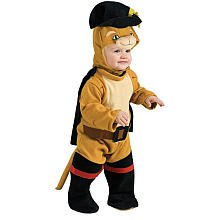 Rubie's Shrek Puss in Boots Costume Toddler Size 1- 2 years 885024-T