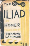 The Iliad (0226469379) by Lattimore, Richmond