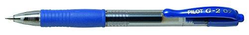 Pilot BL-G2-7-L - Roller gel retráctil, color azul, 1 unidad
