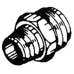 """D.O. Smith 10843 Brass Hose to Pipe, Fittings 3/4"""" MHT x 1/2"""" MIP x 1/2"""" CWT (nominal) (12 Pack)"""