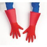 Disguise Marvel Captain America Gloves Costume Accessory, One Size/Child
