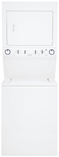 Electric Washer/Dryer Laundry Center - White