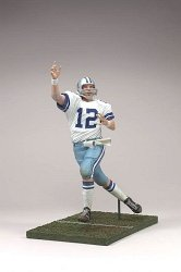McFarlane Toys NFL Sports Picks Legends Series 3 Action Figure Roger Staubach (Dallas Cowboys) (Blue & White Striped Helmet)