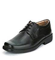 Airflex™ Extra Leather Wide Fit Lace Up Derby Shoes