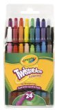 Crayola Twistables Crayons 24CT (Pack of 4)