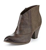 Limited Edition Side Zip Western Boots with Insolia®