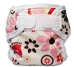 Bummis Super Whisper Wrap Diaper Cover, Bloom, Small