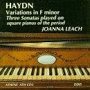 Haydn: Variations in F minor; Three Sonatas /Leach