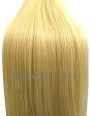 18 inch BLEACH BLONDE (Col 613). Full Head Clip in Human Hair Extensions. High quality Remy Hair!. 100g Weight