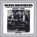Dixon Brothers, Vol. 1: 1936