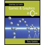 Starting Out with Games and Graphics in C++ - Textbook Only