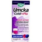 Nature's Way Umcka Cold and Flu Syrup, Berry, 4 Ounce