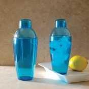 Emi Yoshi Koyal Cocktail Shaker, 10-Ounce, Blue, Set Of 24