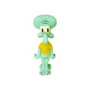 Spongebob Squarepants - Squidward Tentacles Plush - Squidward Stuffed Animal (9in)