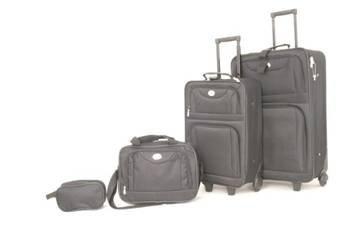 Trolley Reise Koffer Kofferset Reisekoffer Nylon