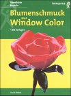 Window-Color-Vorlage: Blumenschmuck aus Window Color