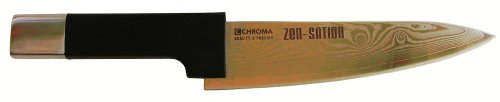 Chroma Z04 7-3/4-Inch Chef Knife, 32 Layers Damascus Stainless Steel, VG14 Core