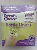 Parent's Choice Bottle Liners 225 (8fl Oz) Bottle Liners