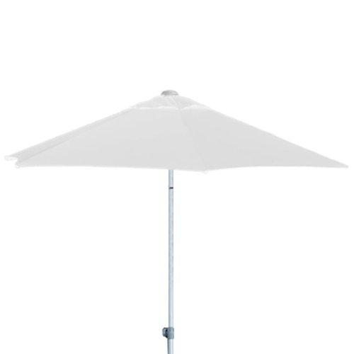 jan kurtz 3 m runder sonnenschirm weiss aus aluminium mit knickgelenk elba kaufen. Black Bedroom Furniture Sets. Home Design Ideas