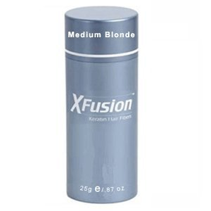 X Fusion Keratin Hair Fibers, Medium Blonde, 0.87 Ounce