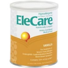 EleCare Amino Acid-Based Medical Food with Iron, Vanilla , 14.1-Ounce Canisters 6 Cans