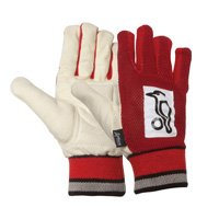 Kookaburra Padded Chamois Batting Cricket Inners Gloves - Mens