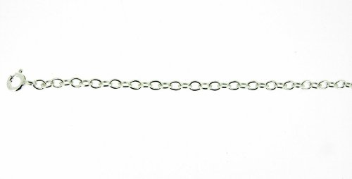 Silver Plain Trace Chain