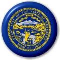 Button / Badge Flagge Fahne Vereinigte Staaten Nebraska
