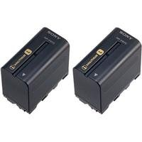Sony NP-F970 L-series Info-Lithium Camcorder Battery (6600mAh) 2-Pack
