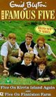 The Famous Five - Five On Kirrin Island Again/Five On Finniston Farm [VHS] [1978]