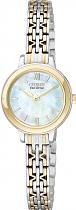 Citizen Eco Drive Analogue Ladies Watch – EX1024-57D