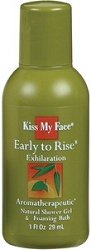 Kiss my Face - Early to Rise Shower Gel 1 oz - Trial Sizes