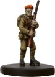 Axis and Allies Miniatures: Determined Infantrymen # 5 - Reserves