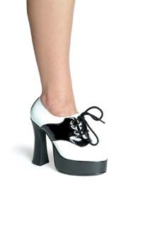 Saddle Platform Shoes