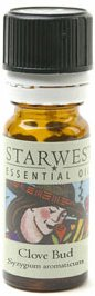 Starwest Botanicals - Clove Bud Essential Oil (1/3 oz.) - 0.33 oz.